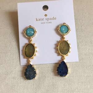 NWT Kate Spade ♠️ perfectly imperfect earrings!